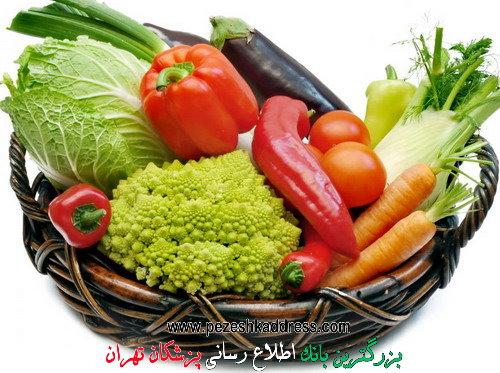 خواص میوه ها و سبزیجات